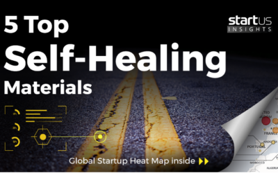 CompPair is in the top 5 self-healing materials startups.