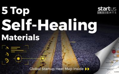 CompPair is in the top 5 self-healing materials startups.