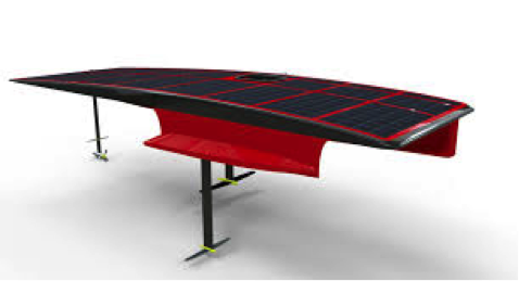 Swiss solar boat