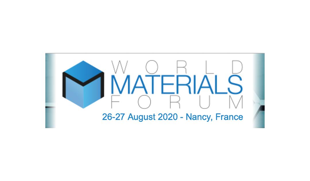 Finaliste du World Materials Forum 2020