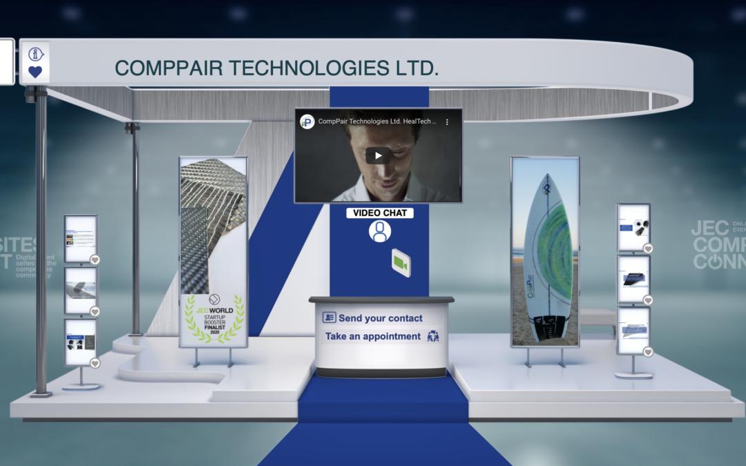 CompPair participe virtuellement au JEC Composites Connect le 1er et 2 juin