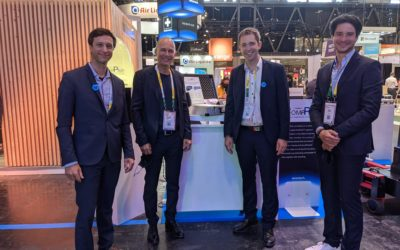 Bertrand Piccard tests CompPair's healable composites at VivaTech 2021!